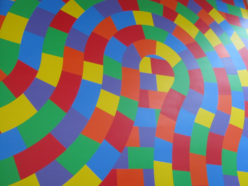 Sol Lewitt at Currier Museum of Art, Manchester NH